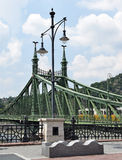 Liberty bridge, Budapest, Hungary Stock Photos