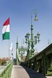 Liberty Bridge Budapest Stock Photos