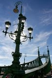 Liberty bridge, Budapest Stock Photography