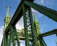 Liberty Bridge in Budapest Royalty Free Stock Photography