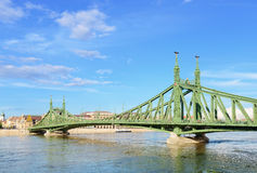 Liberty bridge. Budapest. Stock Photos