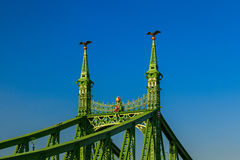 Liberty bridge detail Stock Photo