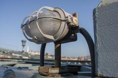 Liberty Bridge fragmentaire à Budapest Photos libres de droits