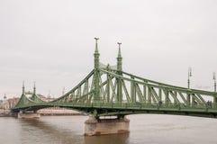 Liberty Bridge or Freedom Bridge in Budapest Royalty Free Stock Photography