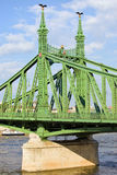 Liberty Bridge in Hungary Royalty Free Stock Images