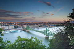 Liberty bridge Stock Photos