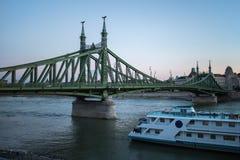 Liberty Bridge (Szabadsag hid) Royalty Free Stock Photos