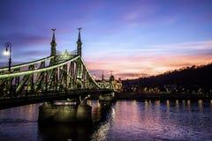 Liberty bridge Royalty Free Stock Photo