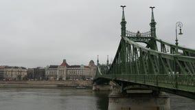 Liberty Bridge stock video