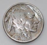 Buffalo Nickel Stock Image