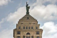 Liberty Building - buffel, New York fotografering för bildbyråer