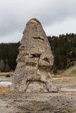 Liberty Cap chez Mammoth Hot Springs Photo stock