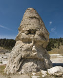 Liberty Cap a Dormant Hot Spring Royalty Free Stock Photo