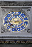 Liberty clock in London Royalty Free Stock Images