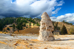 Liberty Cone Yellowstone National Park Royalty Free Stock Photo