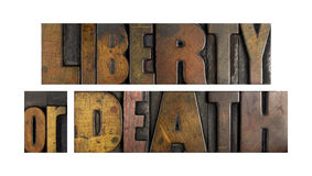 Liberty or Death Stock Photos