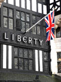 Liberty Department Store, gran calle de Marlborough, Londres, Inglés Imagenes de archivo