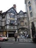 Liberty Department Store, große Marlborough-Straße, London, Engl. Stockfoto