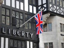 Liberty Department Store, große Marlborough-Straße, London, Engl. Lizenzfreies Stockfoto