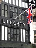 Liberty Department Store, Grote Marlborough-Straat, Londen, Engeland stock afbeeldingen