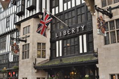 Liberty department store London Stock Image