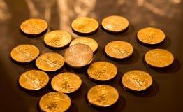 Liberty Gold Eagle one ounce coin Royalty Free Stock Photos