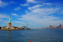 Liberty Island Royalty Free Stock Photography