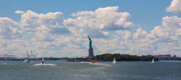 Liberty Island Fotos de archivo libres de regalías