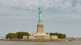 Liberty Island, New York Fotografia Stock Libera da Diritti