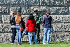 Liberty Island Park Ranger Stock Photos