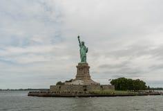 Liberty Island and Statue of Liberty Stock Image