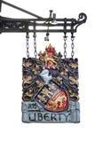 Liberty London Arkivfoton