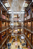 Liberty, luxury department store interior in London Royalty Free Stock Photography