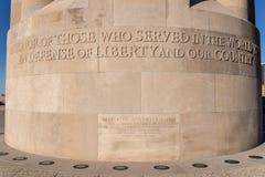 Liberty Memorial National World War mim museu Imagens de Stock