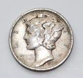 1938 Liberty Mercury Dime Stock Fotografie