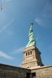 Liberty Monument and Bird Royalty Free Stock Photo