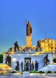 Liberty Monument in Nicosia Stock Foto