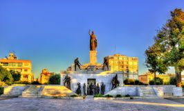 Liberty Monument in Nicosia Royalty Free Stock Image