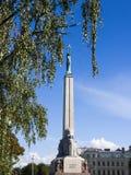 Liberty monument in Riga, Latvia, Royalty Free Stock Image