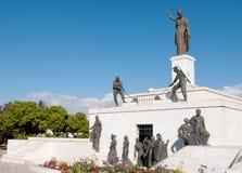 Liberty monument statue landmark in Nicosia, Cyprus Stock Photo