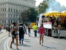 Liberty Parade in Vienna Royalty Free Stock Photography