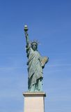 Liberty in Paris. A replica of the Statue of Liberty in Paris, France Stock Photos