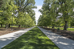 Liberty Park in Salt Lake City Utah Royalty Free Stock Photo