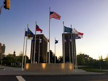 Liberty Plaza, Atlanta, GA lizenzfreies stockfoto