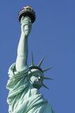 liberty posągów górne fotografia royalty free