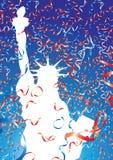 Liberty ribbons Royalty Free Stock Photo