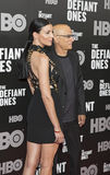 Liberty Ross et Jimmy Iovine Photo libre de droits