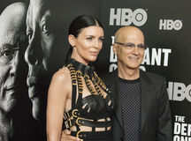 Liberty Ross et Jimmy Iovine Photo stock