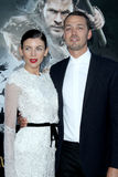 Liberty Ross, Rupert Sanders arrives at the 'Snow White And The Huntsman' Los Angeles screening Royalty Free Stock Photo