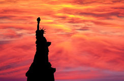 Liberty sky Stock Photo